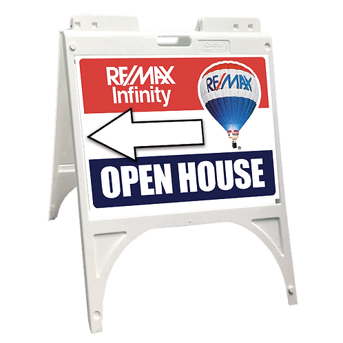 REMAX Infinity Plastic Open House Sidewalk Sign