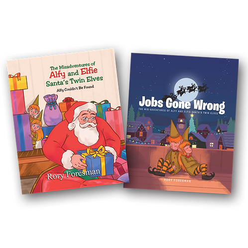 Alfy and Elfie - Two Book Set