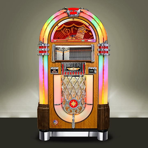 Walnut Bubbler CD Jukebox