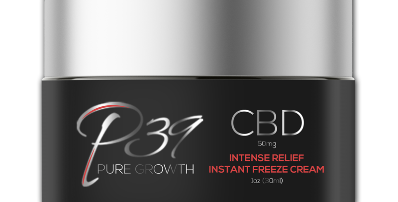 CBD Intense Relief Instant Freeze Cream    50mg - 500mg