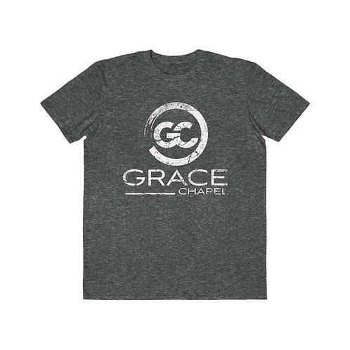 Grace Chapel Distressed Men's Lightweight Fashion Tee