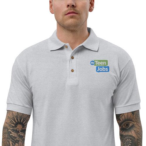 MyTeenJobs Embroidered Polo Shirt
