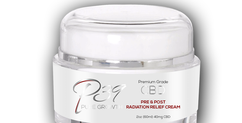CBD Pre & Post Radiation Relief Cream - 40mg