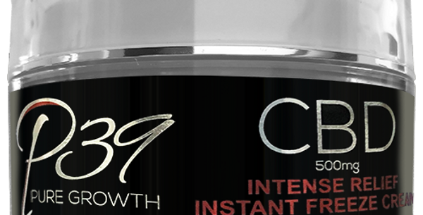 CBD Intense Relief Instant Freeze Cream - 500mg