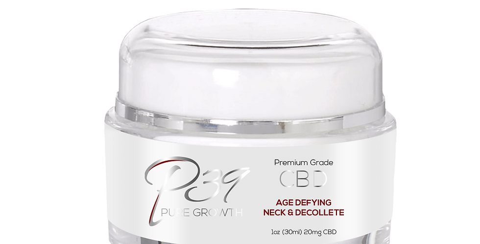 CBD Age Defying Neck and Decollete - 20mg