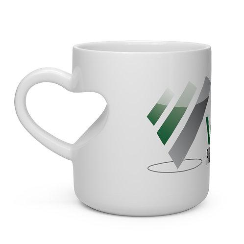 Virtue Financial Heart Shape Mug
