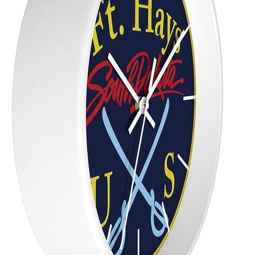 Ft. Hays Wall clock