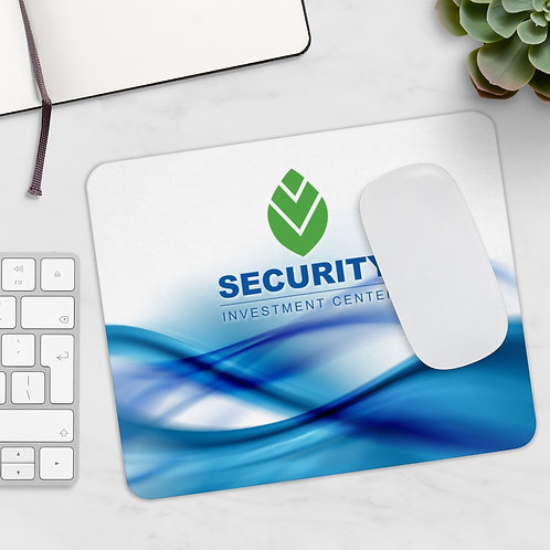 Security Investment Mousepad Swirls