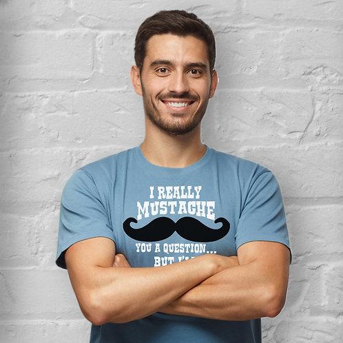 Mustache Unisex Jersey Short Sleeve Tee