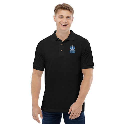 Clean Bottom Pools Embroidered Polo Shirt