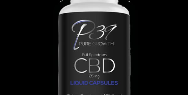 CBD Full Spectrum Liquid Capsules - 25mg