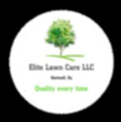 Elite Lawn Care tree logo