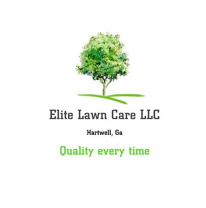 Elite Lawn Care tree logo