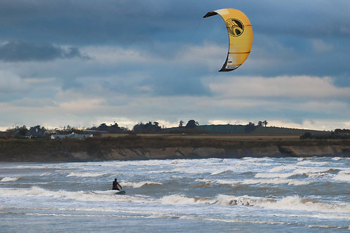 Wind surfer.2 , North beach, Rush, 2020.