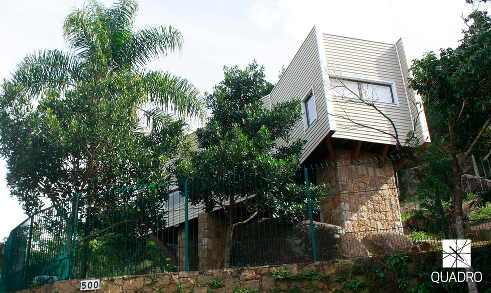 Execução Casa do Porteiro - Projeto da Quadro Arquitetura