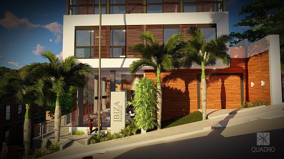 Acesso do Residencial Ibiza