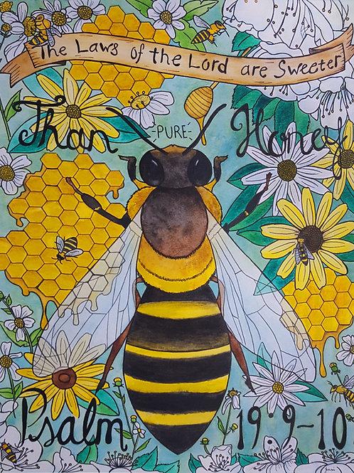 """Sweeter Than Honey"" Fine Art Print"