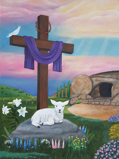 """The Resurrection"" Fine Art Print"