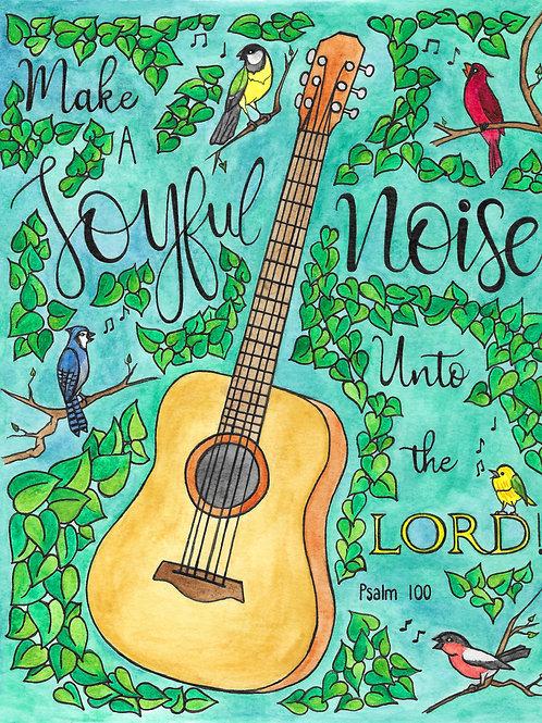 """Psalm 100"" Fine Art Print"