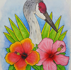 Joyful Like the Crane