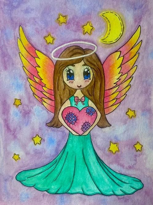 """Sweet Angel"" Fine Art Print"