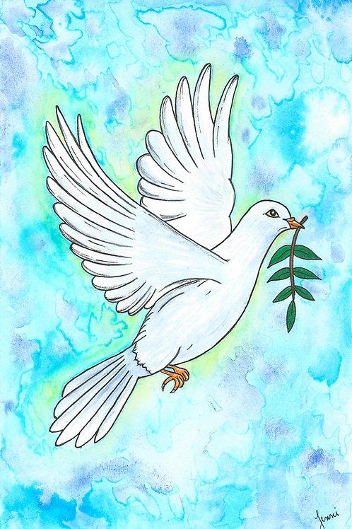 """Dove of Peace"" Fine Art Print"
