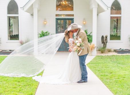 Taylor + Keet's New Braunfels Wedding at Chandelier of Gruene