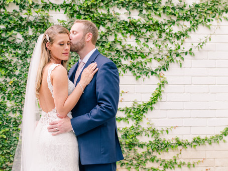 Stacey + Ryan's Garden Wedding in San Antonio