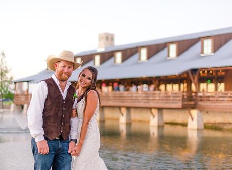 Karlie + Trey's Sunflower Hill Country Wedding