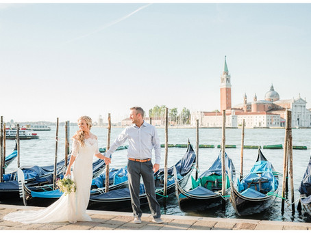 Jon and I's Vow Renewal in Venice, Italy