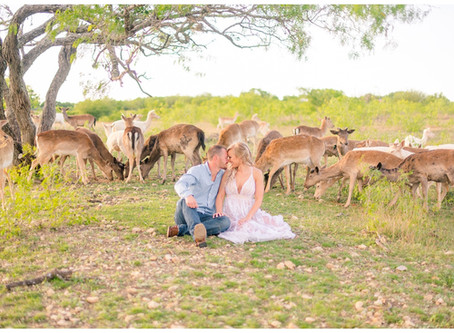 Dreamy Engagement Session at Geronimo Oaks