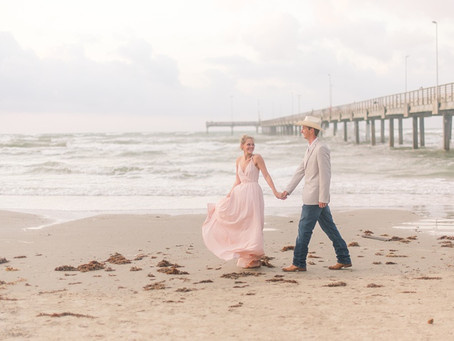 Port Aransas Sunrise Engagement Session