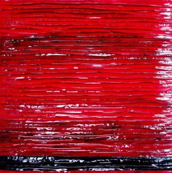 布と漆風の風合い