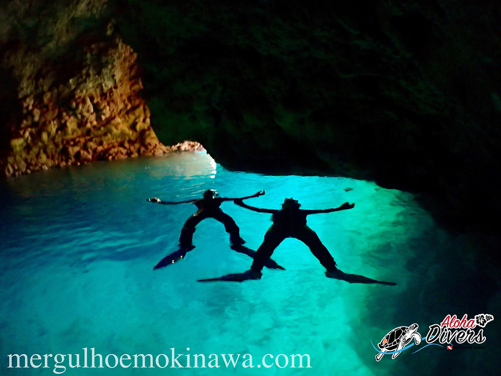 Blue Cave - Aloha Divers Okinawa - Mergulho em Okinawa
