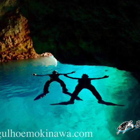 Blue Cave - A famosa Caverna Azul - Aloha Divers Okinawa - Mergulho em Okinawa