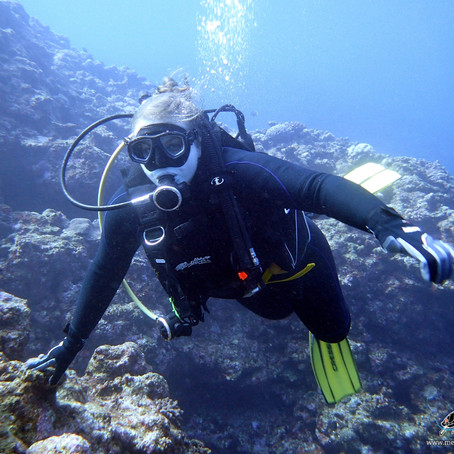 Discovery Dive with Andrea- Aloha Divers Okinawa