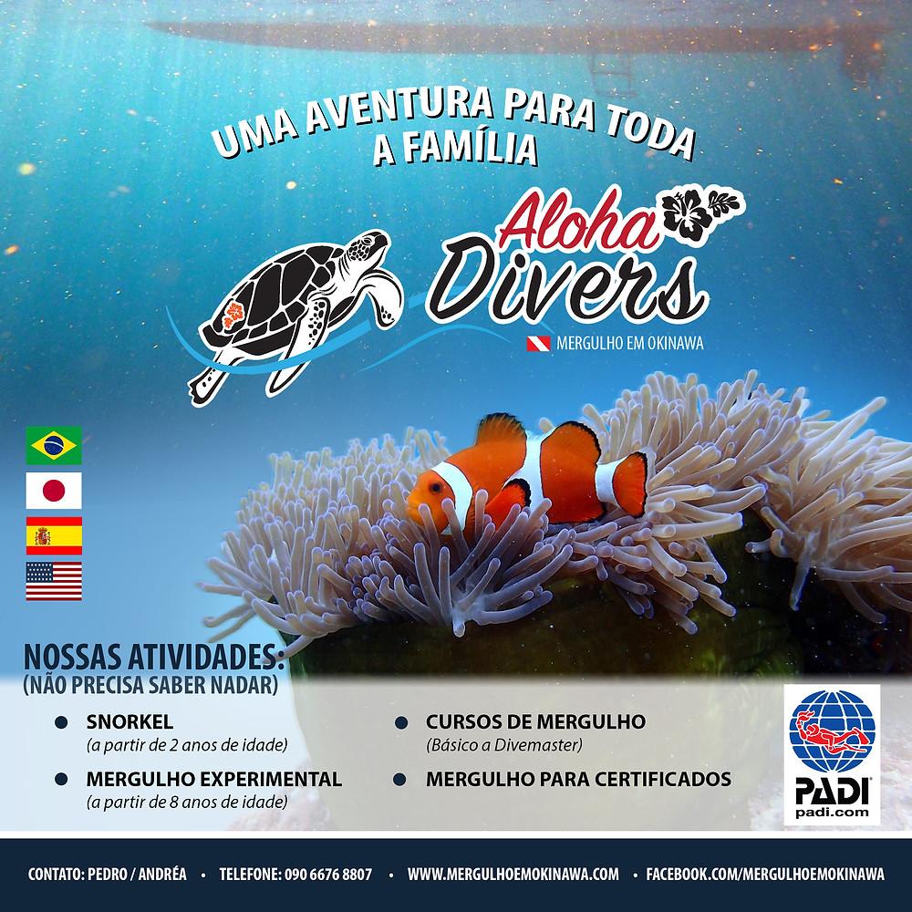 Aloha Divers Okinawa - Mergulho em Okinawa