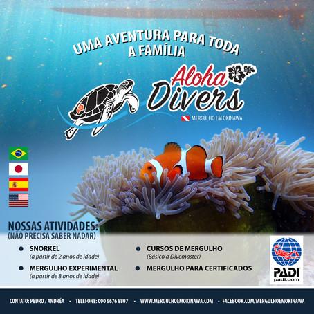 Venha mergulhar com Aloha Divers Okinawa - Mergulho em Okinawa