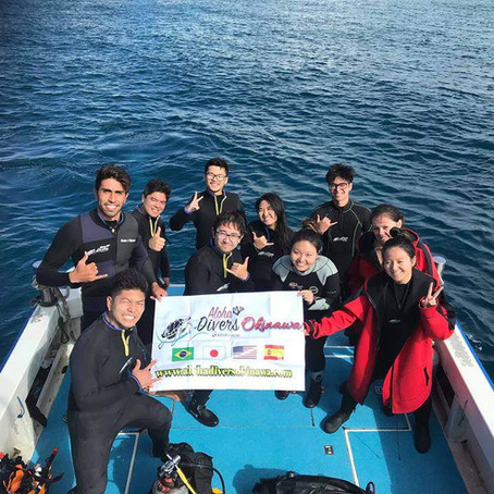 Discover Scuba Diving in Kerama Island - Mergulho em Okinawa - Aloha Divers Okinawa