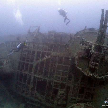Diving USS Emmons