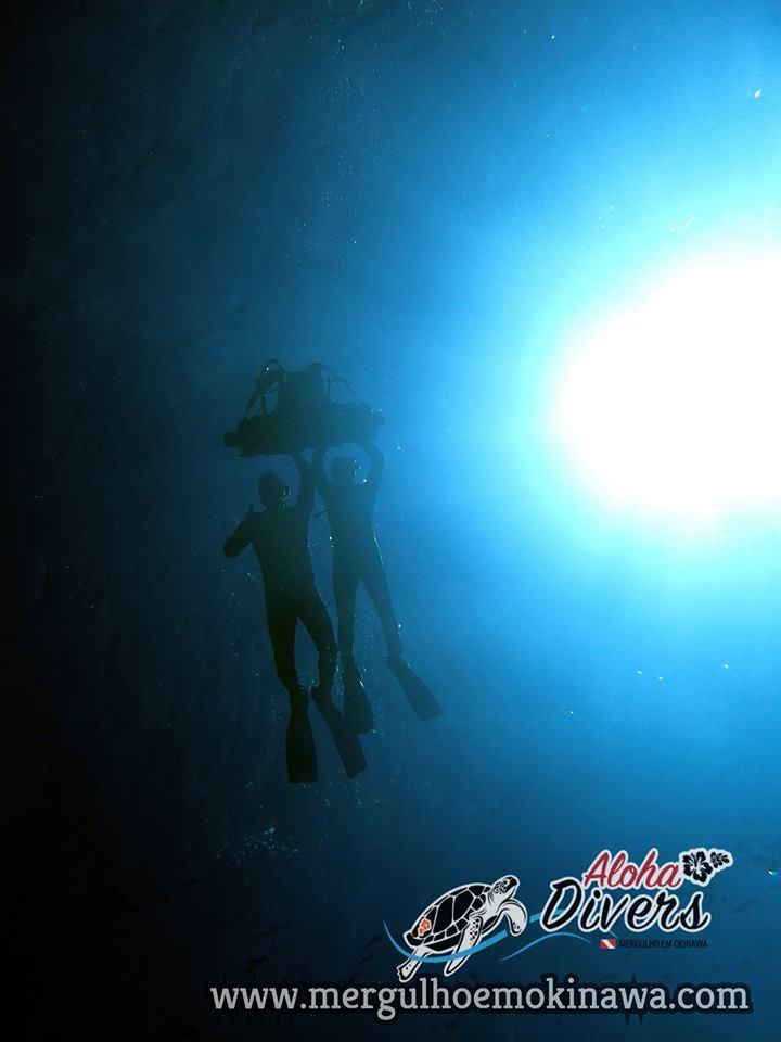Lua de Mel do casal de Brasileiros em Okinawa