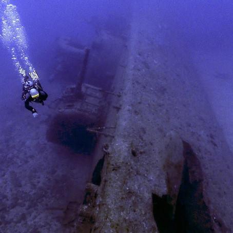 USS Emmons - Naufrágio da Segunda Guerra Mundial