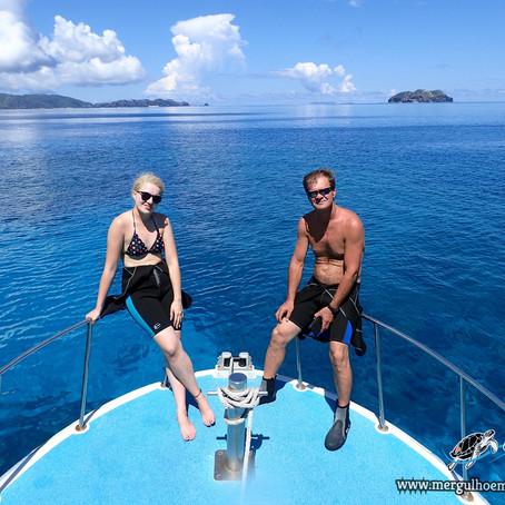Um dia que jamais o pai e a filha irá esquecer - Aloha Divers Okinawa - Mergulho em Okinawa