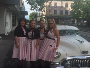 Trenger dere hotellrom på Hamar før løpet?