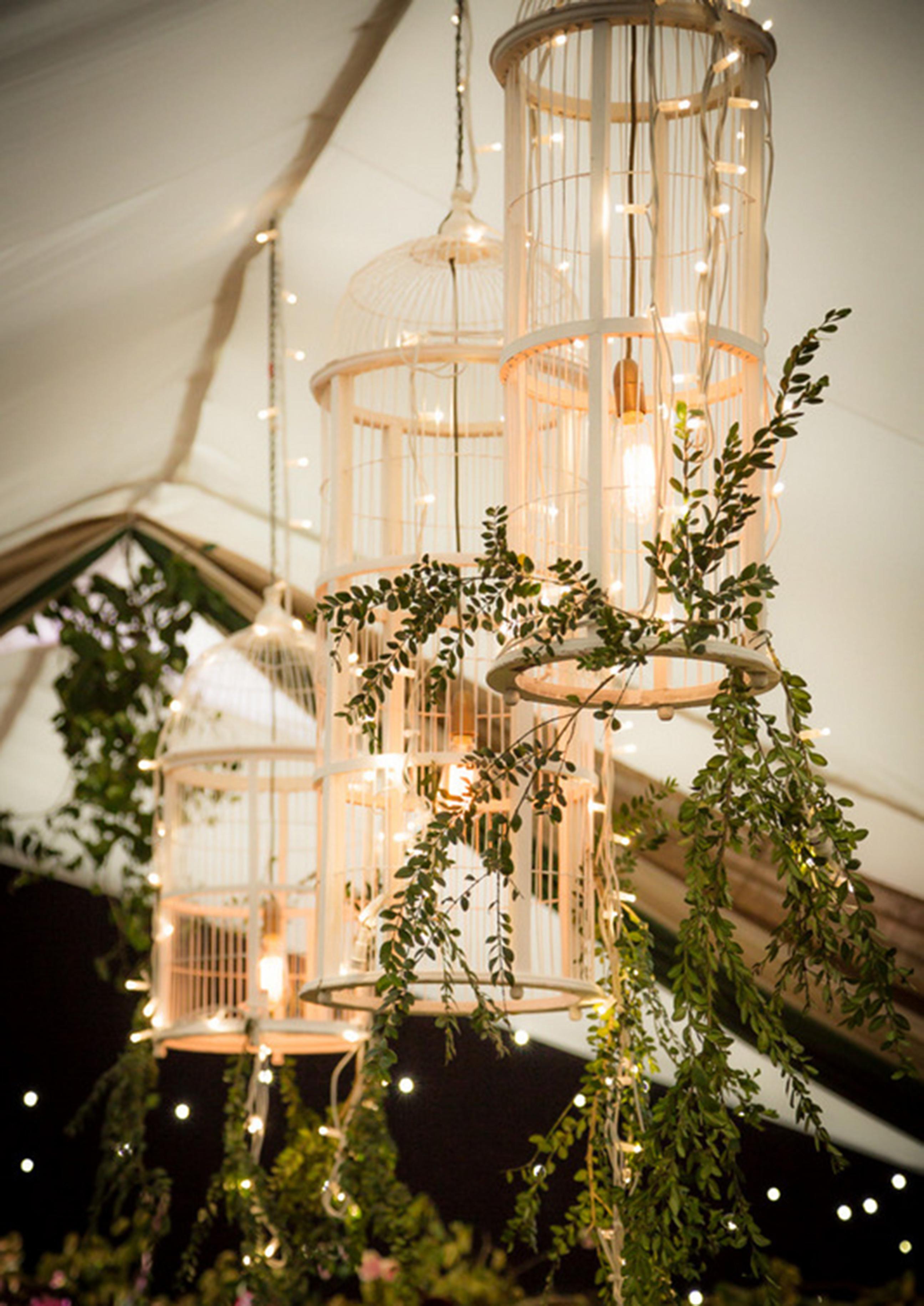 Birdcage Overhead Lights