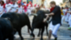 Dennis Clancey Bull Runner Running with the Bulls Pamplona Spain 2012 Getty Image Bull Run Expert