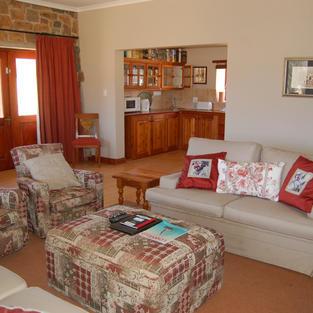 Lounge to Kitchen - Watersmeet Cottage