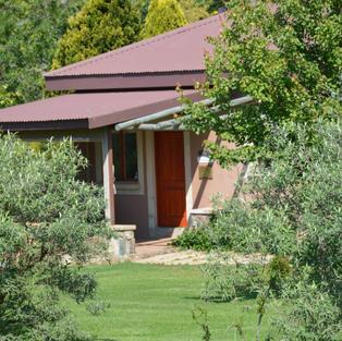 Feathers Cottage entrance