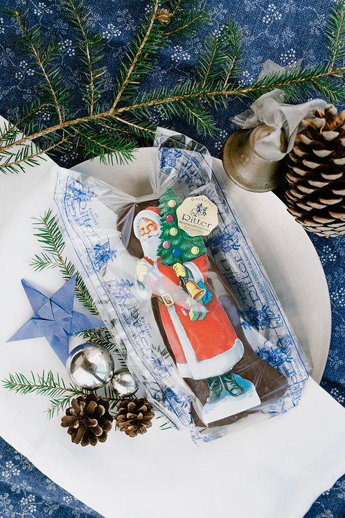 Schoko Dinkellebkuchen Weihnachtsmann