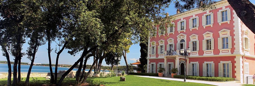 Hochzeit in Kroatien Schloss am Meer - Johanna Langer Weddings